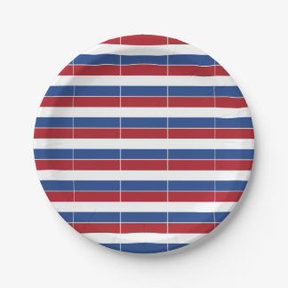 Netherland Holland Patriotic Pattern Paper Plate