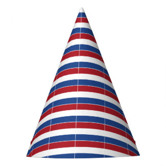 Netherland Holland Patriotic Pattern Party Hat