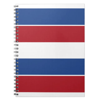 Netherland Holland Patriotic Pattern Spiral Notebook