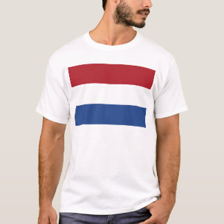 Netherland Holland Patriotic Pattern T-Shirt