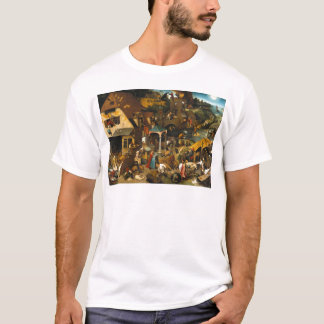 Netherlandish Proverbs by Pieter Bruegel the Elder T-Shirt