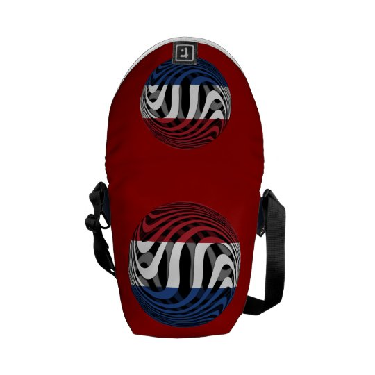 Netherlands #1 messenger bag