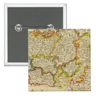 Netherlands 2 2 inch square button