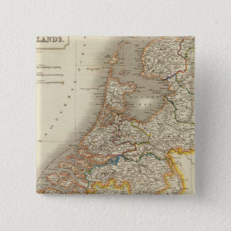 Netherlands 7 2 inch square button