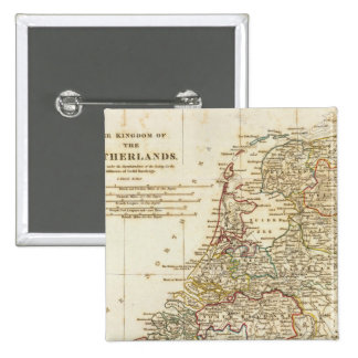 Netherlands 9 2 inch square button