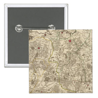 Netherlands and Belgium 3 2 Inch Square Button