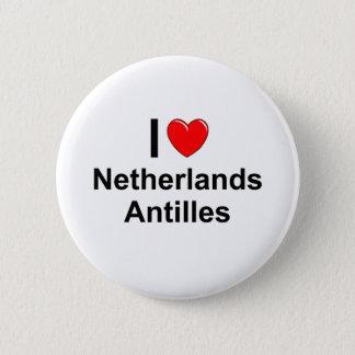 Netherlands Antilles 2 Inch Round Button