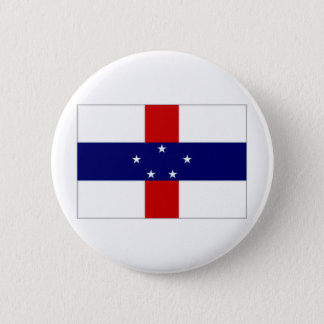 Netherlands Antilles Flag 2 Inch Round Button