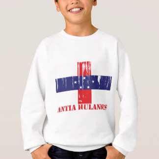 Netherlands Antilles Flag Sweatshirt