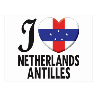 Netherlands Antilles Love Postcard