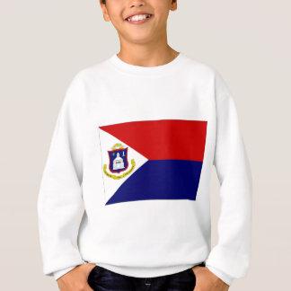 Netherlands Antilles St Maarten Flag Sweatshirt