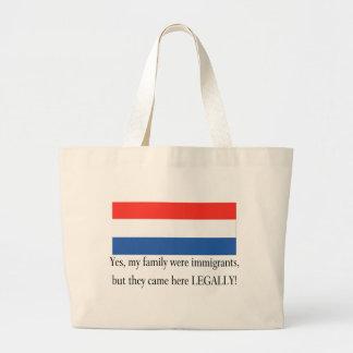 Netherlands Canvas Bag