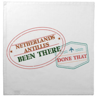 Netherlands Been There Done That Napkin