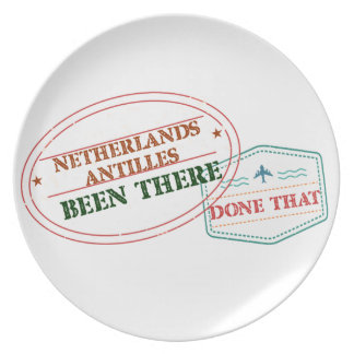Netherlands Been There Done That Plate