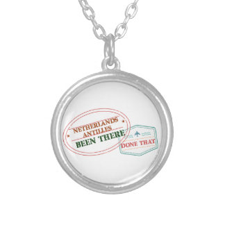 Netherlands Been There Done That Silver Plated Necklace