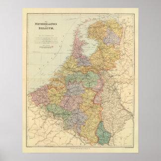 Netherlands, Belgium 2 Poster