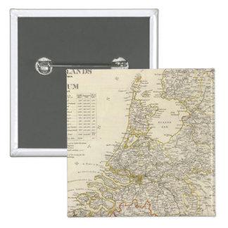 Netherlands, Belgium Pins