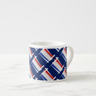 Netherlands Brush Flag Espresso Cup