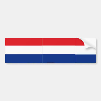 Netherlands bumper sticker