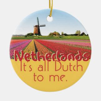 NETHERLANDS CERAMIC ORNAMENT