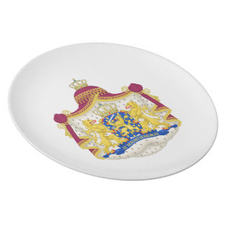 Netherlands Coat of arms Plate