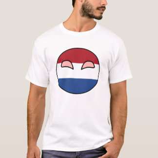 Netherlands Country Ball T-Shirt