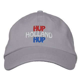 Netherlands European Soccer Fan Embroidered Hat