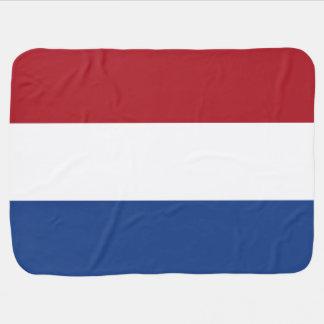 Netherlands Flag Baby Blanket