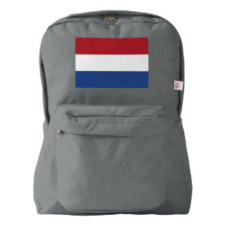 Netherlands Flag Backpack
