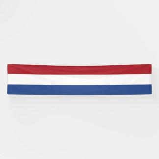Netherlands Flag Banner