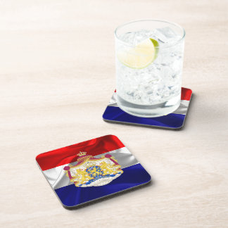 Netherlands flag coaster