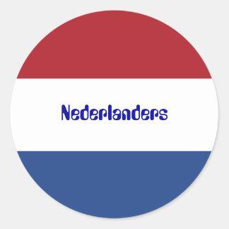 Netherlands Flag Dutch Nederlanders Sticker
