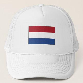 Netherlands FLAG International Trucker Hat