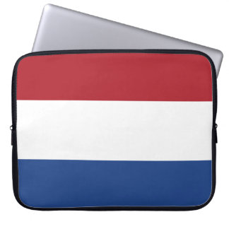 Netherlands Flag Laptop Sleeve
