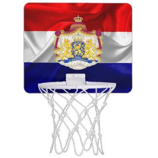 Netherlands flag mini basketball hoop