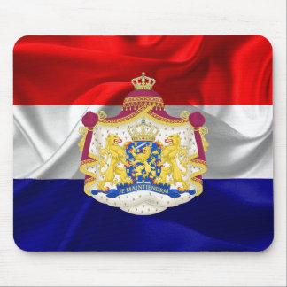 Netherlands flag mouse pad