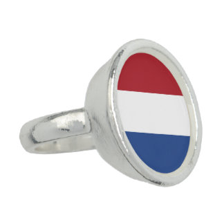 Netherlands Flag Ring