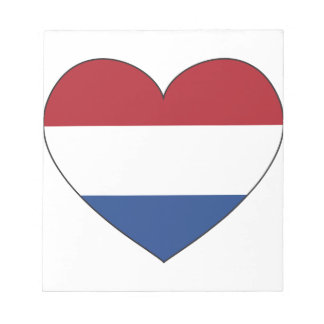 Netherlands Flag Simple Notepad