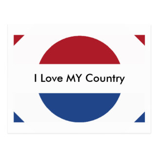 Netherlands Flag The MUSEUM Zazzle Postcard