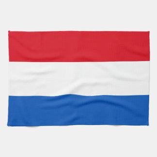Netherlands Holland Flag Kitchen Towel