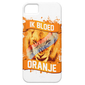 "Netherlands ""I Bleed Orange"" in Dutch iPhone 5 Cover"
