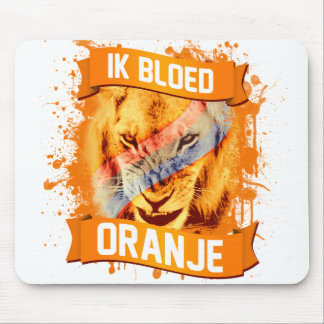 "Netherlands ""I Bleed Orange"" in Dutch Mouse Pad"