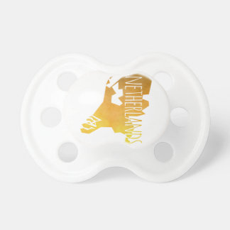 Netherlands Map Baby Pacifier