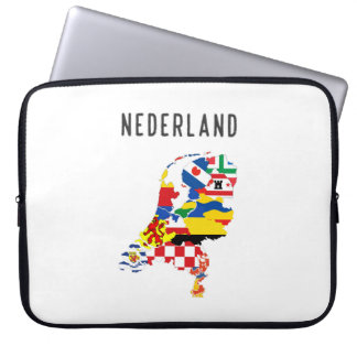 Netherlands nederland name text country regions pr laptop sleeve