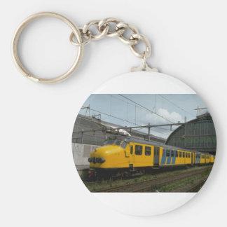 Netherlands, Ry MU electric cars Basic Round Button Keychain