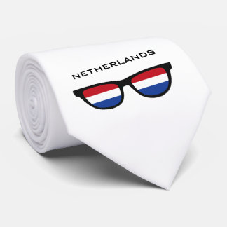 Netherlands Shades custom text & color tie