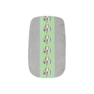 Netherlands Shamrock Nail Wrap