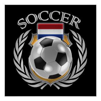 Netherlands Soccer 2016 Fan Gear Poster