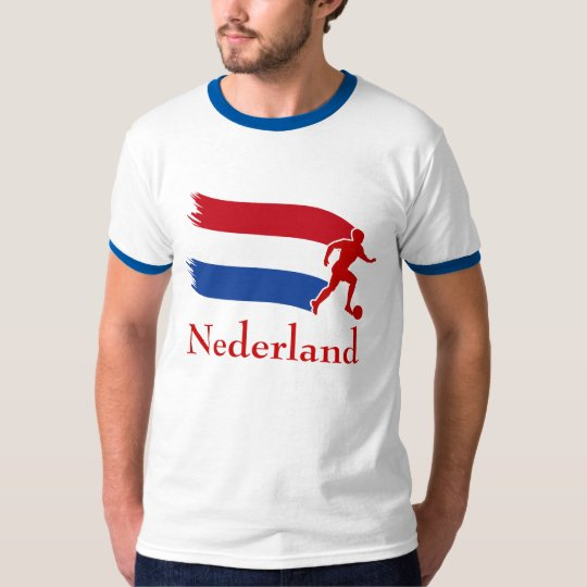 Netherlands Soccer Flag T-Shirt