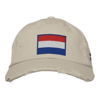 Netherlands Soccer: Nederland Football 2010 Embroidered Hat